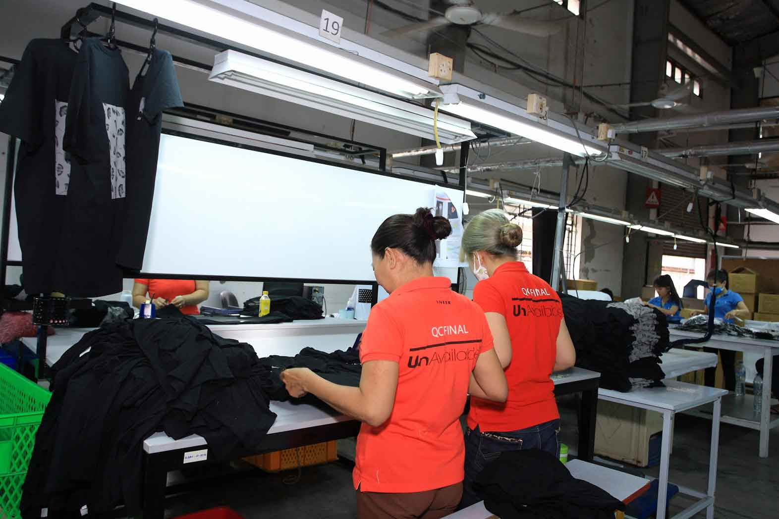 Puff Screen Printing Company in Ho Chi Minh